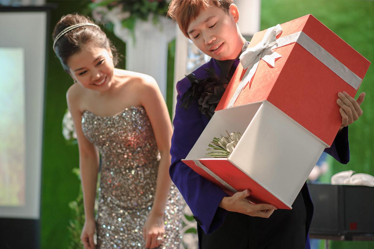 婚禮魔術表演