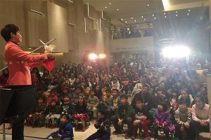 林坤毅舞台魔術表演
